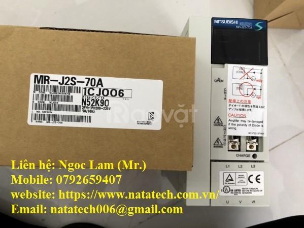 Servo MR-J2S-70A giá tốt - Cty TNHH Natatech