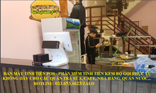 Lắp đặt máy tính tiền cho mô hình quán chè, sinh tố, cafe