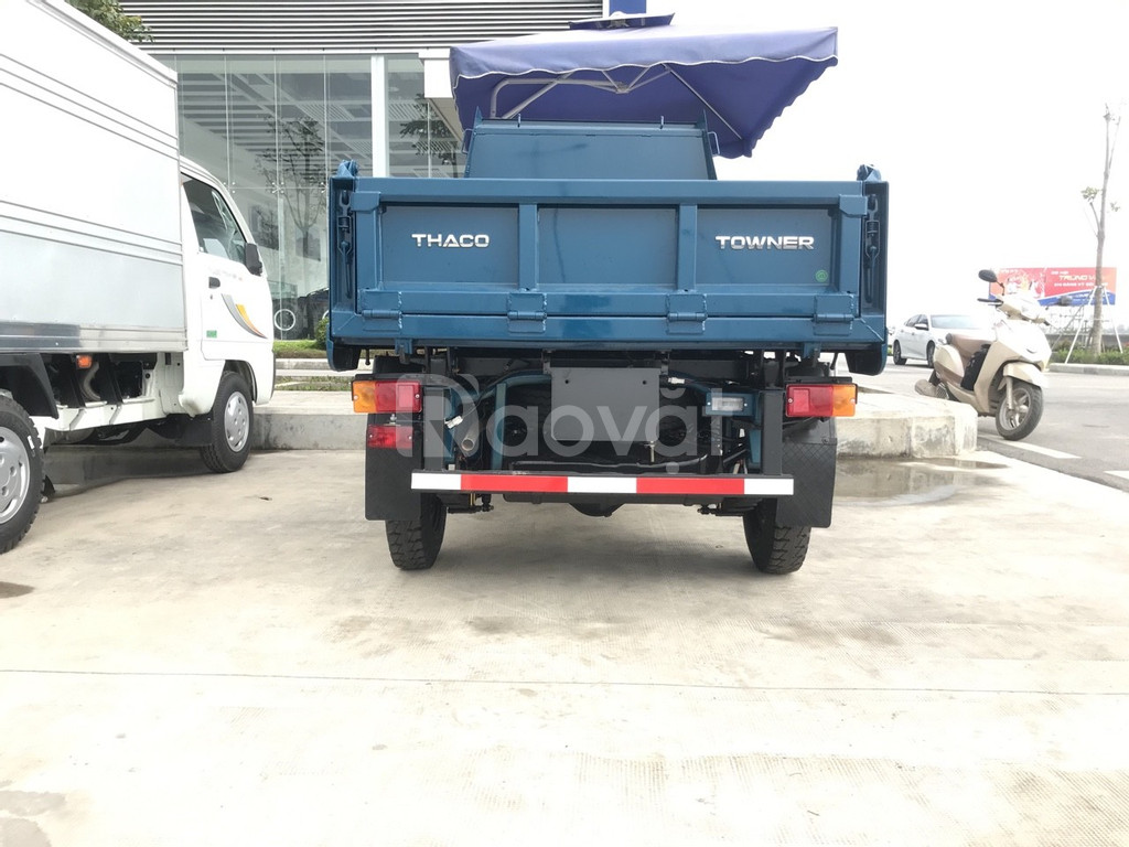 Thaco Towner800 Ben, tải trọng 750kg, thùng 0,9m3