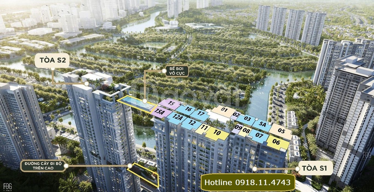 Chung cư Sky Oasis Ecopark, 3PN, từ 93.87m2, 107.48m2 chỉ từ 2.5 tỷ