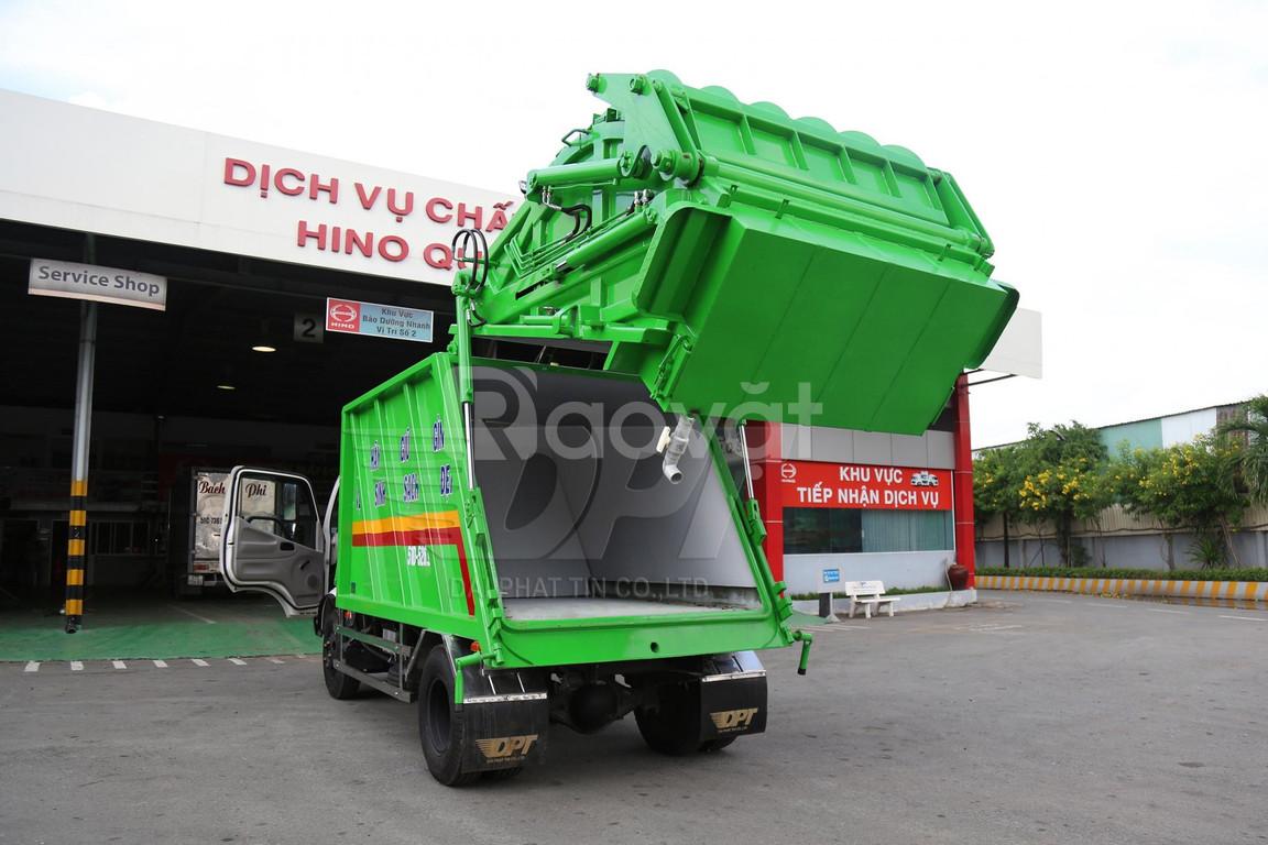 Hino XZU342 xe ép rác 6 khối