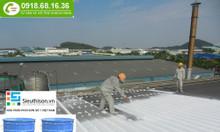 Nơi bán sơn chống nóng cho mái tôn nhà xưởng màu trắng