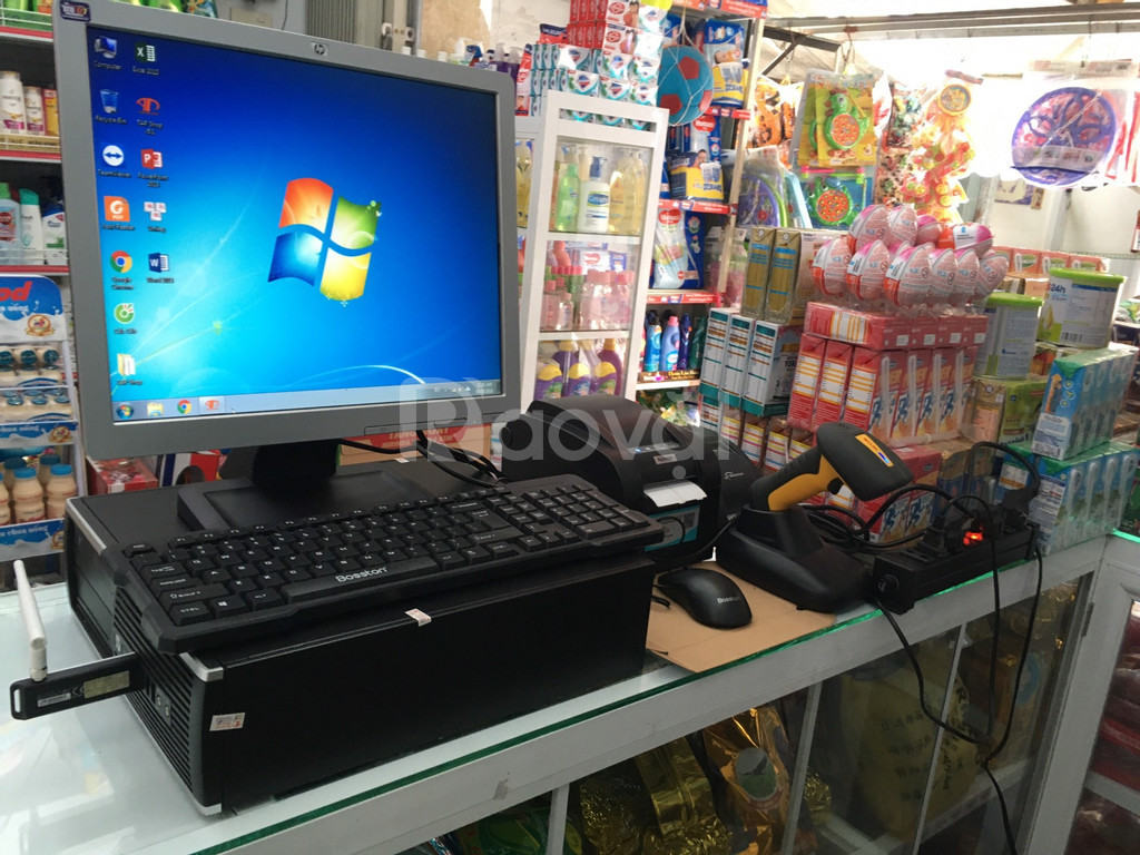 Máy tính tiền cho cửa hàng bách hóa tổng hợp tại Đồng Tháp