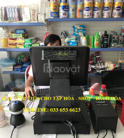 Lắp đặt máy tính tiền cho tạp hóa, bách hóa tại Bình Thuận