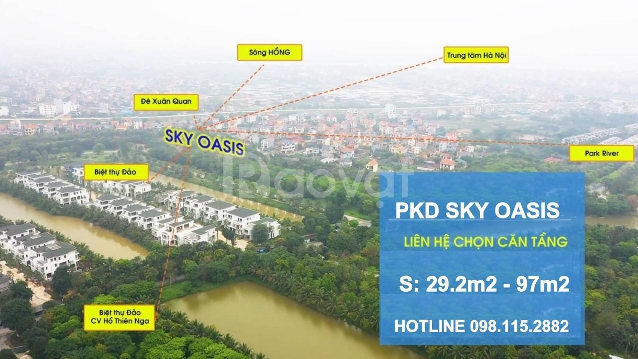 Căn 2-3 ngủ Sky Oasis từ 2.01Tỷ - CK 11% - HTLS 0% - LH 0918114743