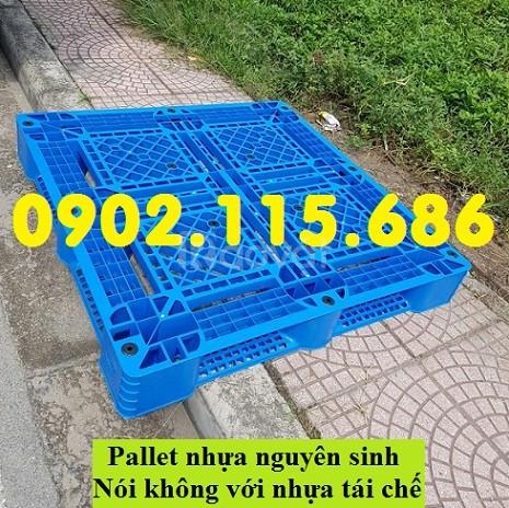 Pallet nhựa hà nội, pallet nhựa giá rẻ, pallet nhựa 1200 x 1000 x 150m