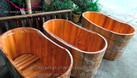 Bồn tắm gỗ số lượng lớn tại miền Bắc (ảnh 4)