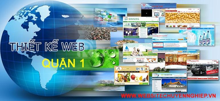 Thiết kế website Quận 1 chuyên nghiệp, giá rẻ, chuẩn seo