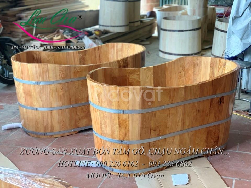 Bồn tắm gỗ số lượng lớn tại miền Bắc (ảnh 3)