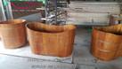 Bồn tắm gỗ số lượng lớn tại miền Bắc (ảnh 6)