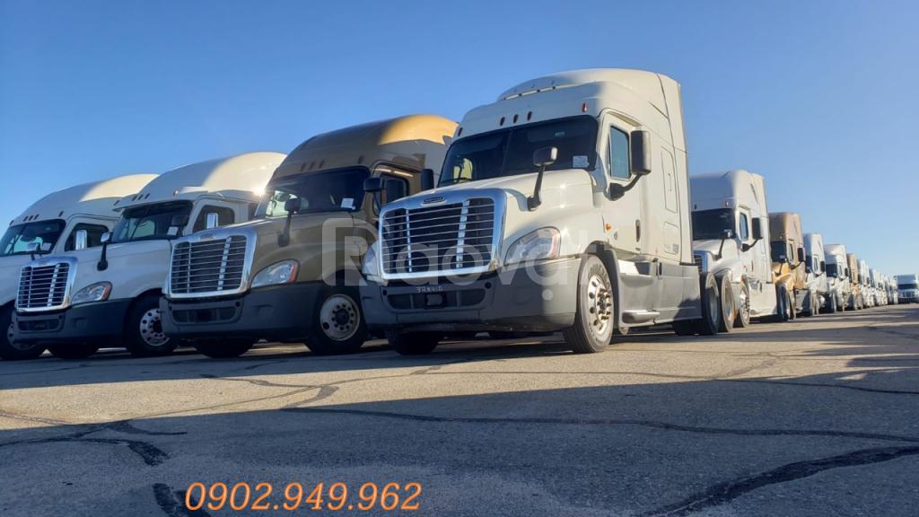 Đầu kéo Cascadia Freightliner đầu kéo mỹ cascadi cũ 2014 (ảnh 4)
