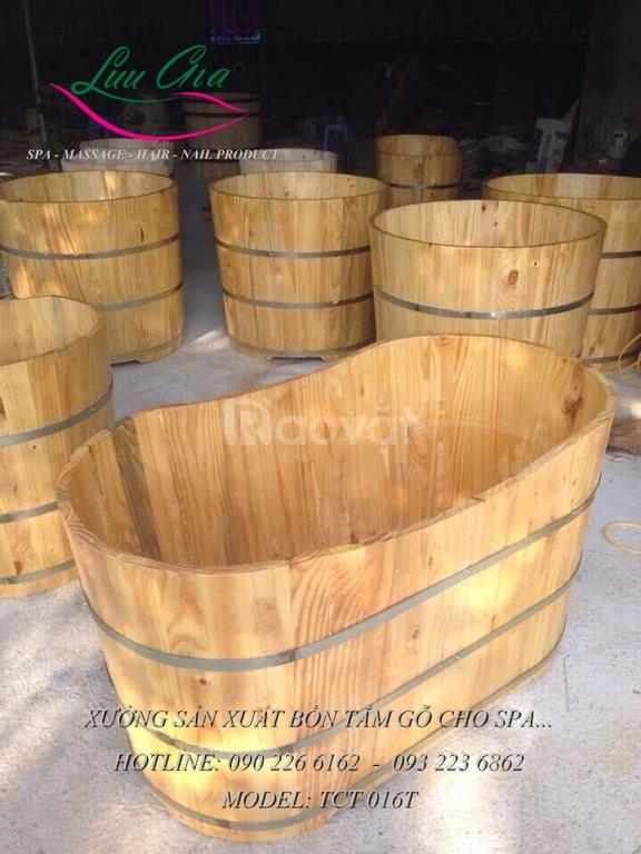 Bồn tắm gỗ số lượng lớn tại miền Bắc (ảnh 2)