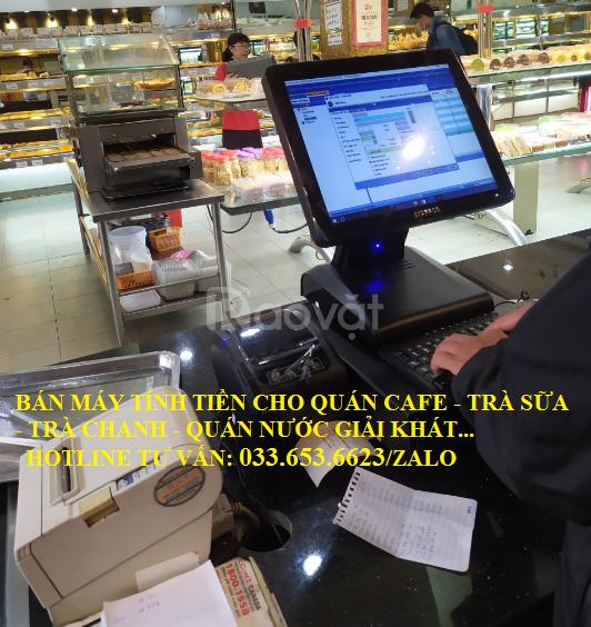 Bán máy tính tiền cho mô hình quán cafe tại Tây Ninh (ảnh 1)