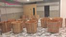 Bồn tắm gỗ số lượng lớn tại miền Bắc (ảnh 5)