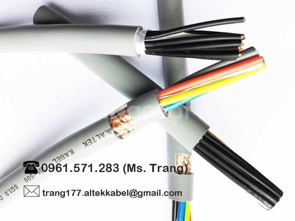 Control cable 8x0.75mm2- Cáp điều khiển chống nhiễu
