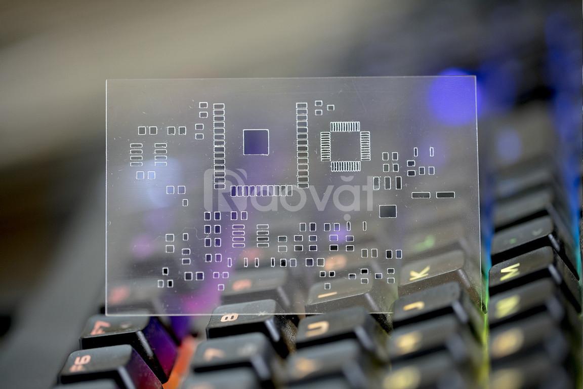 Stencil Plastic hàn gắn linh kiện điện tử