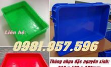 Khay linh kiện cao 10cm, sóng nhựa Hs025, thùng nhựa nguyên sinh