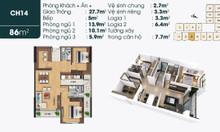 Cần bán căn hộ 1918 tại dự án TSG Lotus Sài Đồng Long Biên giá 2.2 tỷ