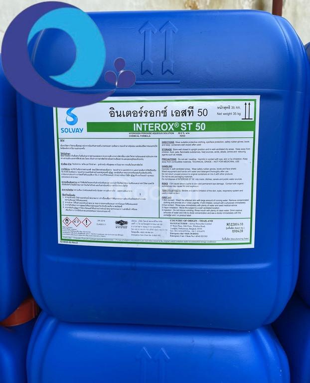 Mua bán Oxy già –  H2O2 –Thái Lan can 50%  Hydro peroxide 35kg