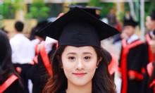 Aó tốt nghiệp mầm non và tiểu học xanh đỏ vàng