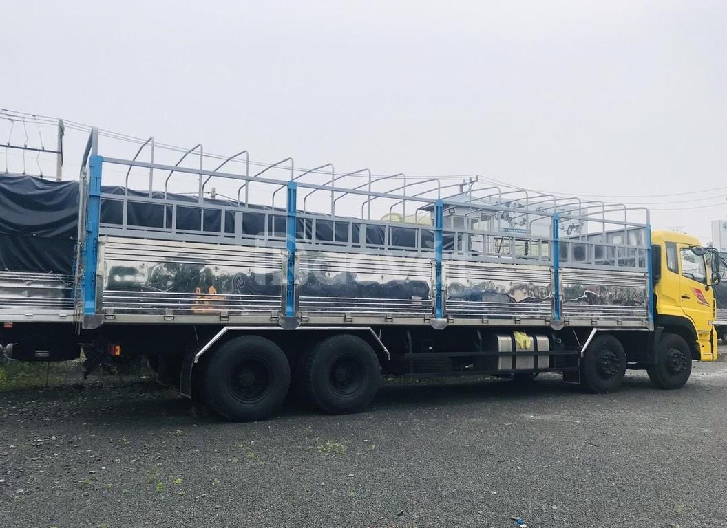 Xe tải 4 chân dongfeng hoàng huy nhập khẩu, hỗ trợ vay đến 75% giá trị