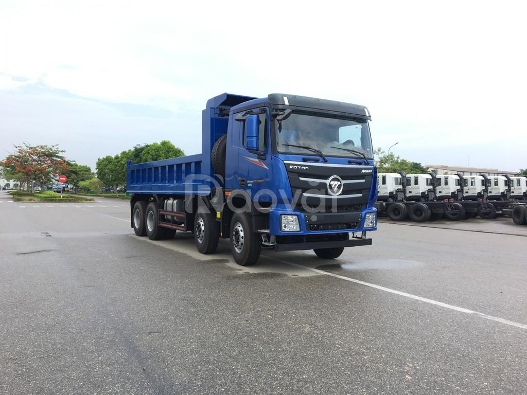 Thaco auman d300gtl.e4 xe ben nặng tại Hải Dương