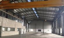 Cho thuê kho xưởng DT 4200m2 KCN Phú Nghĩa Chương Mỹ Hà Nội.