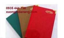 Sản xuất sổ da in logo giá rẻ tại Đà Nẵng, sổ da cao cấp tại Đà Nẵng