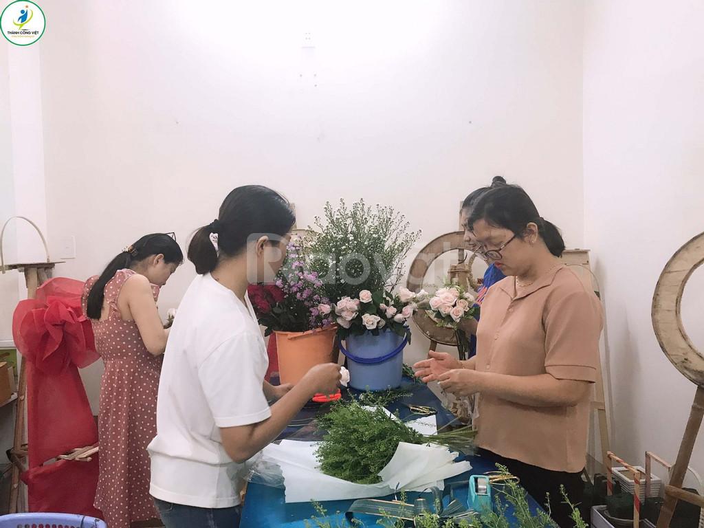 Đào tạo cắm hoa nghệ thuật tại Đà Nẵng
