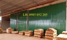 Lò sấy gỗ công nghiệp giá tốt