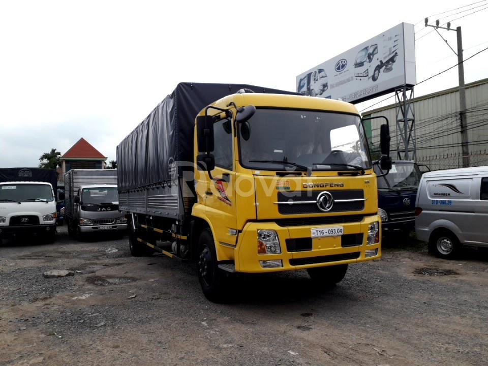 Xe tải dongfeng 9 tấn b180 - thùng dài 7.5 mét nhập khẩu