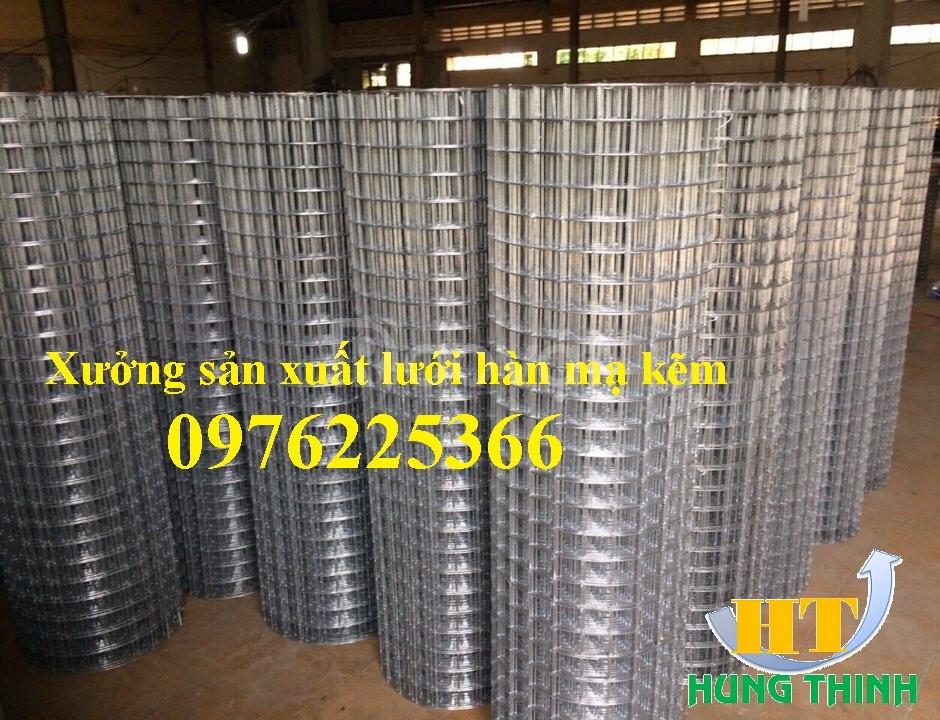 Chuyên sản xuất lưới thép hàn mạ kẽm 1ly, 2ly, 2,5y, 3lly, 4ly, 5ly