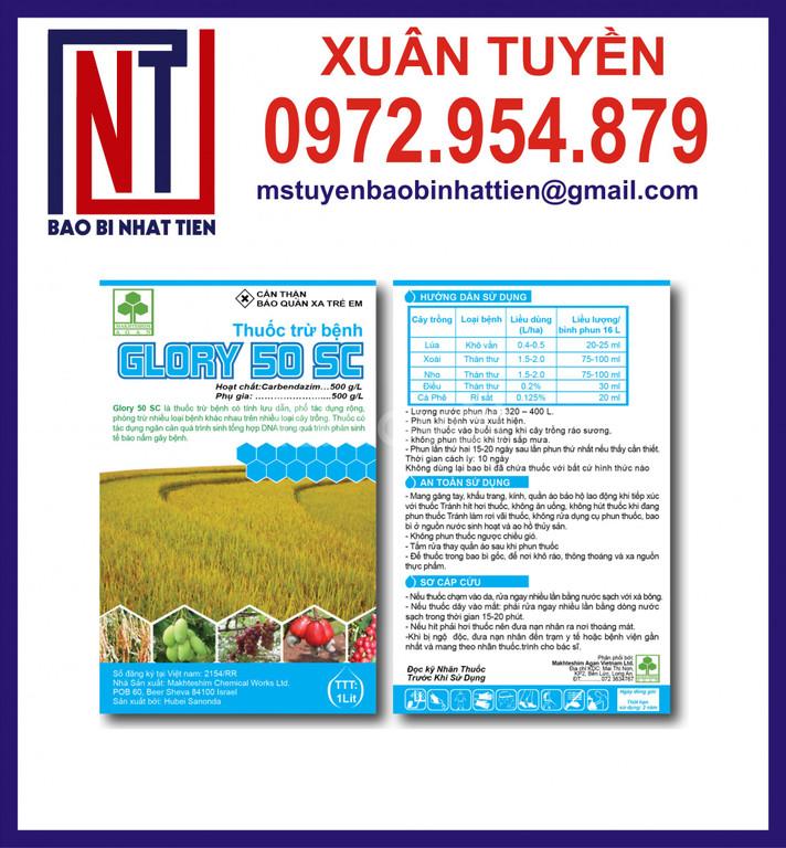 Bao bì thuốc trừ sâu, thuốc bảo vệ thực vật