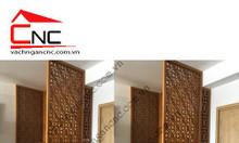 Ứng dụng vách ngăn phòng thờ bằng gỗ cho nội thất