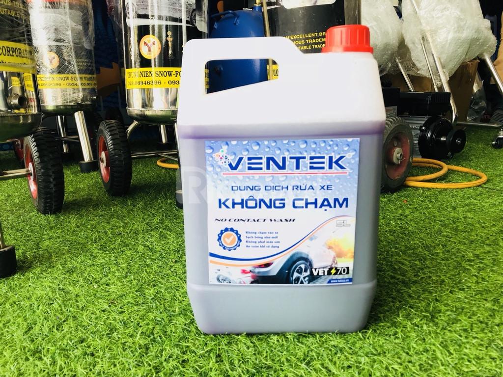 Nước rửa xe không chạm Ventek VET 70 5l