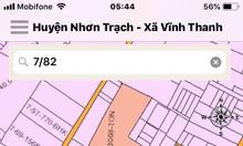Đất Nhơn Trạch 134m2 đường đẹp tại ấp Hòa Bình, xã Vĩnh Thanh