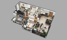 Căn góc số 15A tòa S1 dự án Sky Oasis Ecopark 3 phòng ngủ + 5 chỉ vàng
