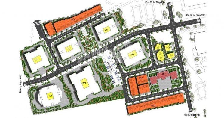 Chung cư Khu đô thị Rose Town -79 Ngọc Hồi 1.25 tỷ