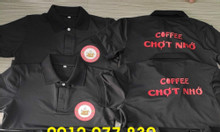 Áo thun nhân viên đồng phục quán coffee giá rẻ