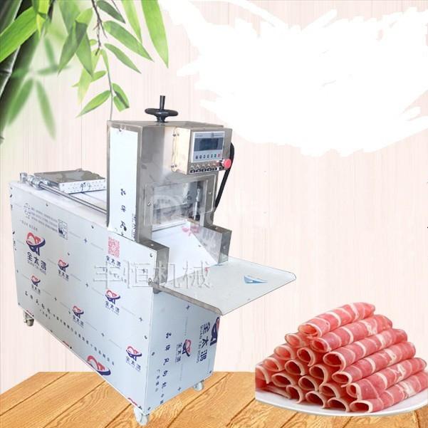 Máy thái thịt đông lạnh 2 cuộn thịt 0399597323