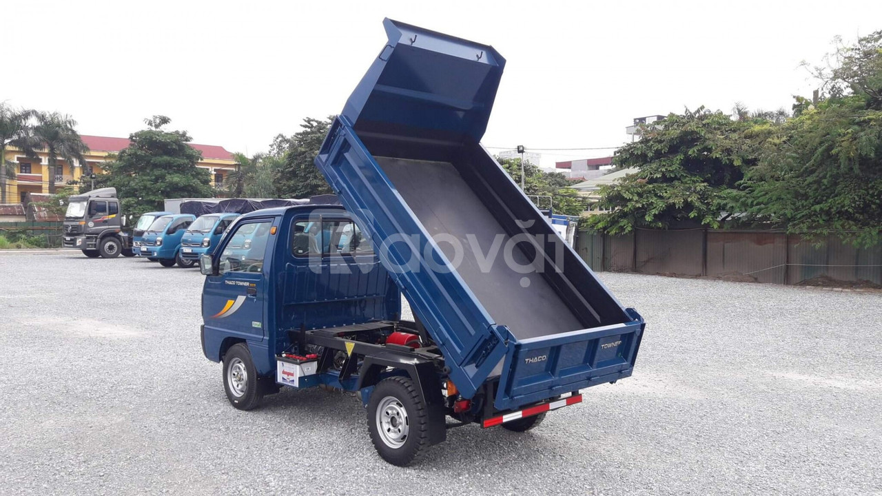 Xe tải ben tải trọng dưới 1 tấn
