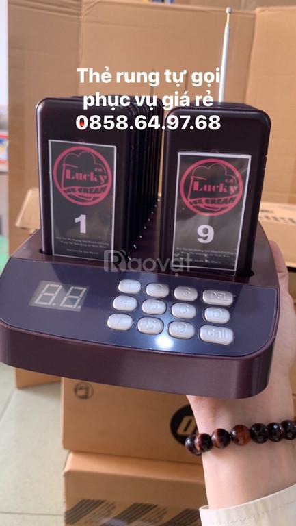 Cung cấp thẻ báo rung tự gọi phục vụ giá rẻ tại BMT