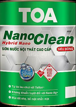 Cửa hàng chuyên bán sơn nội thất nanoclean cho công trình tại TPHCM