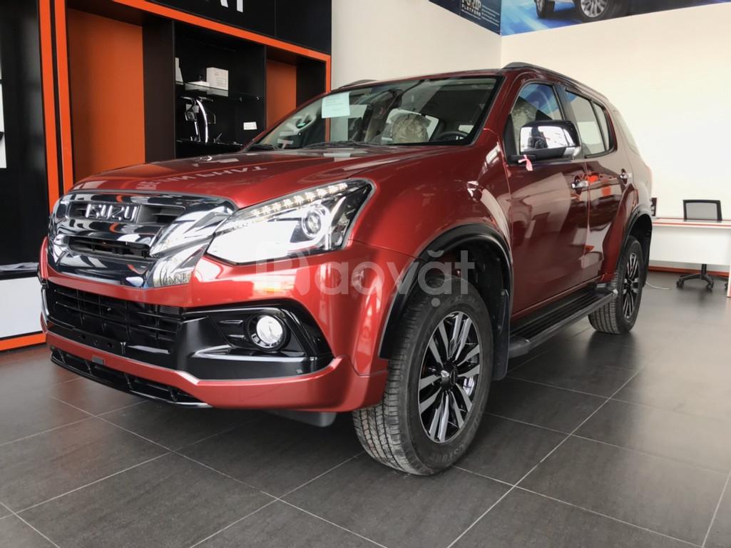 Mu-X Limited, tự động, máy dầu 1.9 turbo, nhập khẩu Thái Lan