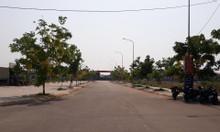 Lô mặt tiền 5x20 đường lớn 18m vỉa hè 5m khu hành chính công huyện