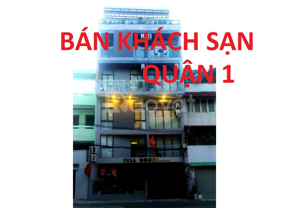 Bán nhà KS-CHDV 56 Trần Quý Khoách, Tân Định Q1, thu 300 triệu /tháng