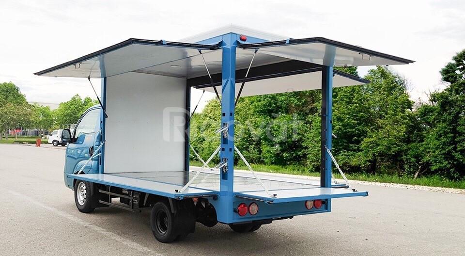 KIA K200 bán hàng lưu động, tải trọng 1.490kg