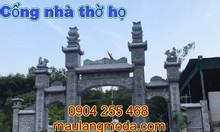 Ý nghĩa cổng nhà thờ họ và 23 mẫu cổng nhà thờ họ bằng đá đẹp