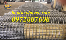 Lưới mạ kẽm, lưới thép hàn xây dựng, lưới thép hàn dạng cuộn có sẵn