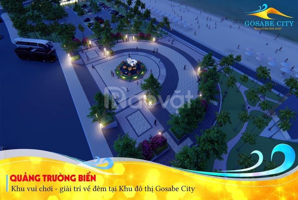 Đất nền dự án Gosabe City Quảng Bình Vị trí mặt tiền biển Quảng Bình